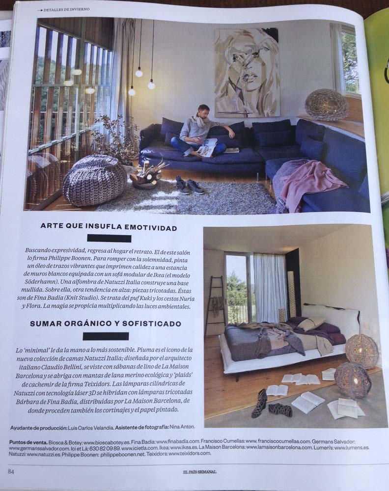 Press Page 2 Fina Badia # Muebles Cado Barcelona