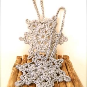 Floc Snowflakes Fina Badia I Knit Studio
