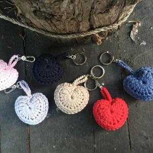 Lavander key heart Accesorios Fina Badia I Knit Studio