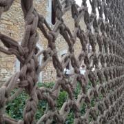Malla de punto Celosias Pergolas Fina Badia I Knit Studio