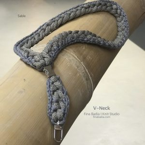 Sable V-neck